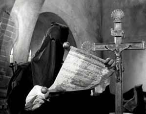 الزي الذي كان يرتديه رجال الكنيسة خلال محاكم التفتيش التي راح ضحيتها مسلمو اسبانية
